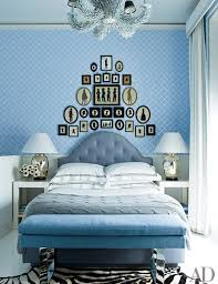 Jonathan Adler Bedroom Bedroom Decorating Inspiration Soothing Shades Of Blue Photos
