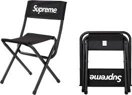 supreme supreme coleman folding chair
