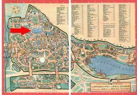 Map Of Epcot Lagoon Of Nations At The 1939 New York World U0027s Fair Imaginerding