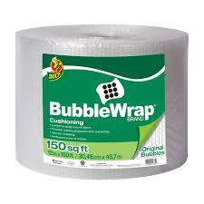 Bubble Wrap Halloween Costume Duck Brand Original Bubble Wrap Cushioning Clear 12 150