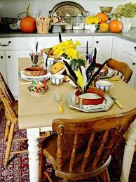 thanksgiving day home decors with thanksgiving dining room