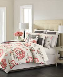 closeout martha stewart collection peony blossom 9 piece bedding