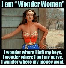 i am wonder woman cado wolfe i wonder where ilet my keys wonder