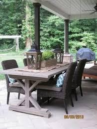 Farmhouse Patio Table by Diy Farmhouse Table For 65 Diy Farmhouse Table Farmhouse Table