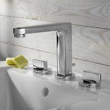Wall Bathroom Faucet by Moments Widespread High Arc Bathroom Faucet American Standard