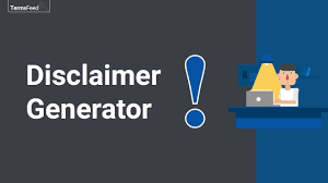 Disclaimer by Disclaimer Generator Termsfeed