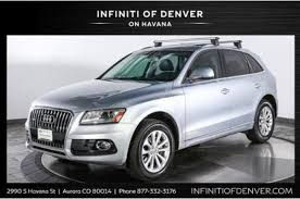 does audi q5 require premium gas used audi q5 for sale in denver co edmunds