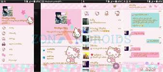 bbm kitty pink u0026 blue android port