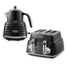 Delonghi Icona 4 Slice Toaster Black De U0027longhi Scultura 4 Slice Toaster And Kettle Bundle Black High