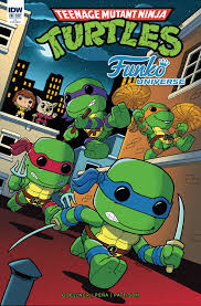 teenage mutant ninja turtles funko universe u2013 idw publishing