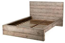 Solid Bed Frame King Wood Platform Bed Frame King Hcandersenworld