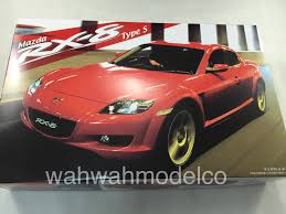 mazda sports car models fujimi 035529 id 105 mazda rx 8 type s 1 24 model kit wah wah
