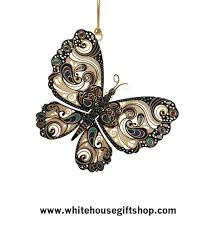 butterfly ornament metamorphosis white house gift shop nature