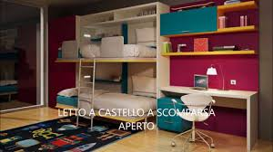 Ikea Lettini Per Bambini by Camerette Roma Camerette Salvaspazio Per Ragazzi A Roma Youtube
