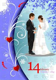wedding cards for and groom and groom ornate wedding card royalty free vector clip