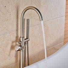 Floor Mounted Faucet Brushed Nickel Floor Mount Home Faucets Ebay