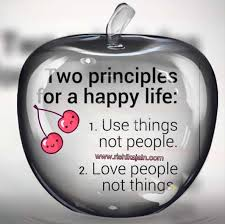 two principles for a happy inspirational quotes pictures