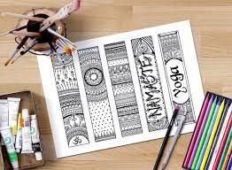 printable bookmarks for readers printable bookmarks coloring om bookmarks zendoodle