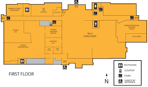 floor plan student center ball state university ball state tally food court floor plan