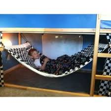 Kids Hand Made Bunk Bed Hammock Made With That Ikea Bunk Bed With - Ikea bunk bed slide