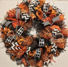 sale halloween wreath halloween wreaths wreath mesh halloween