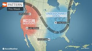 Taste Of Chicago Map Autumn Like Air To Chill Great Lakes To Northeastern Us Into The