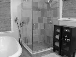 ceramic flooring tile glass shower cabin standalone bathtub towel