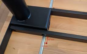 ikea bamboo table top instructions for how to affix an ikea gerton table top to the ikea