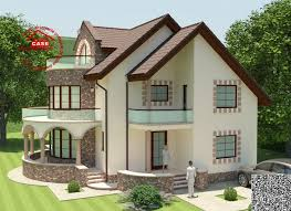 Two Story House Plans With Balconies Round Balcony House Plans An Expressive Design