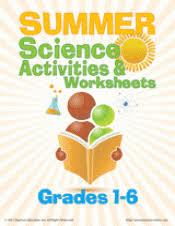 summer science worksheets teachervision