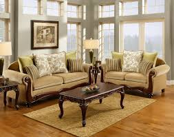 Living Room Sets Made In Usa Carved Wood Trim Leather Sofa