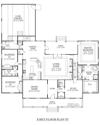 house plans rear garage lovely 16 floor in addition ranch with