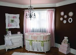 modern and stylish round baby crib for your nursery