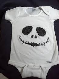 skelton onesie i cross stitched a baby onesie cross