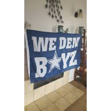 Dallas Cowboys Flags And Banners Dallas Cowboys We Dem Boyz Flag Banner 3x5 Feet