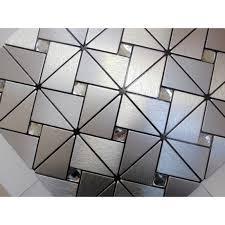 metal wall tiles kitchen backsplash glass mosaic brushed aluminum alucobond tile kitchen