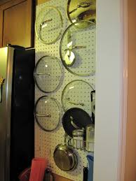 kitchen pegboard ideas even for lids kitchen pegboard ideas