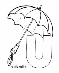 letter coloring pages free umbrella alphabet coloring pages free alphabet coloring pages of