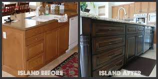 kitchen update with island makeover