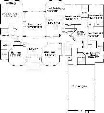 5 Bedroom 4 Bathroom House Plans by 146 Best House Plans Images On Pinterest Dream House Plans