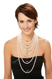 pearl necklace lengths images Pearl jewelry buyers guide luster grading pearls size jpg