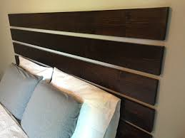 floating headboard diy no nail holes pinned by sophia