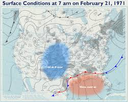 Cold Front Map February Tornadoes Are Rare But With A Damaging History State