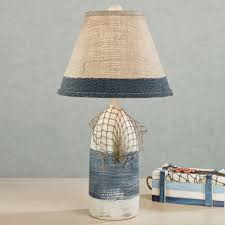 awesome coastal table lamps modern wall sconces and bed ideas