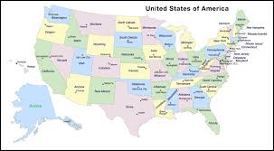 map of 50 us states with names united states map with names of and capitals 95 labeled us state