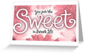 Sweet Birthday Cards Sweet Sixteen Birthday Cards Gangcraft Net