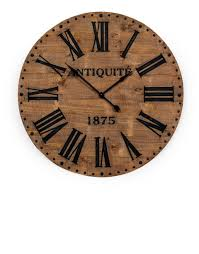 vintage and retro style large wall clocks by dandelion interiors