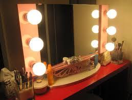 Lighted Vanity Mirror Diy Broadway Style Vanity Mirror C Milli Regarding Broadway Lighted