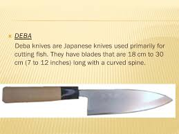 there are a number of different types of japanese kitchen knives