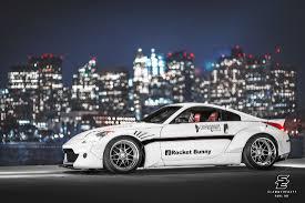 nissan 350z rocket bunny prospec autosport 350z slammedenuff